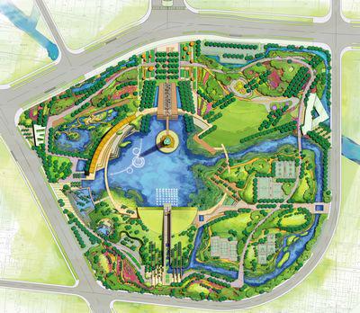 常州东经120公园景观概念设计
