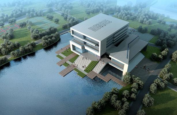 广州地区高校图书馆中庭设计与节能