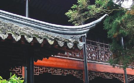 中国传统建筑中的飞檐