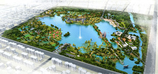 江阴璜石湖公园景观设计方案通过评审