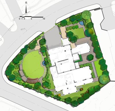 别墅地形平面图设计图